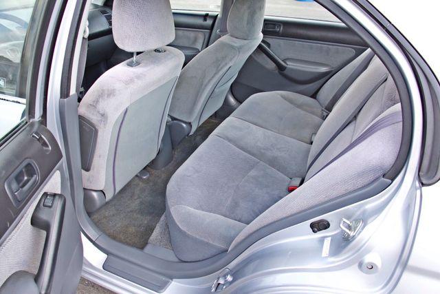 2001 Honda CIVIC LX 4 DOORS SEDAN MANUAL 1-OWNER SERVICE RECORDS AVAILABLE Woodland Hills, CA 22