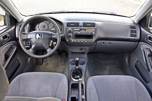 2001 Honda CIVIC LX 4 DOORS SEDAN MANUAL 1-OWNER SERVICE RECORDS AVAILABLE Woodland Hills, CA 15