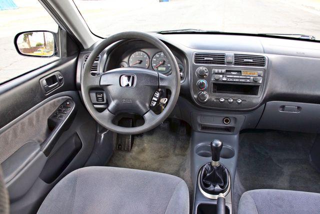 2001 Honda CIVIC LX 4 DOORS SEDAN MANUAL 1-OWNER SERVICE RECORDS AVAILABLE Woodland Hills, CA 16