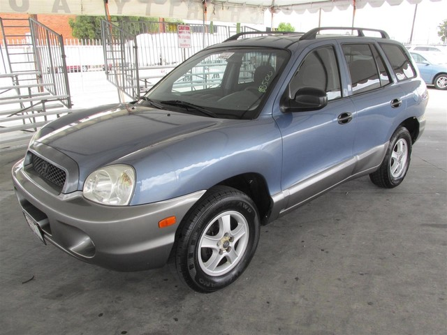 2001 Hyundai Santa Fe GL Please call or e-mail to check availability All of our vehicles are av