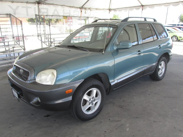 2001 Hyundai Santa Fe GLS Please call or e-mail to check availability All of our vehicles are a