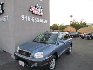 2001 Hyundai Santa Fe GLS Sacramento, CA 1