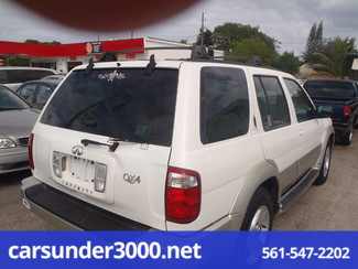 2001 Infiniti QX4 Luxury Lake Worth , Florida 3