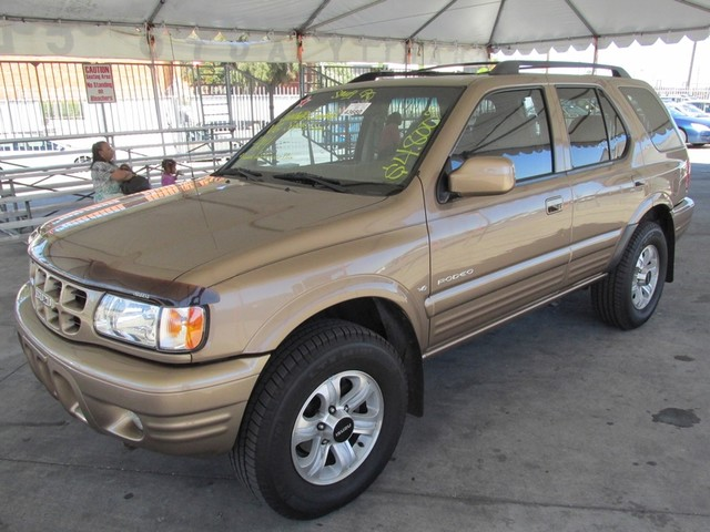 2001 Isuzu Rodeo LS Please call or e-mail to check availability All of our vehicles are availabl