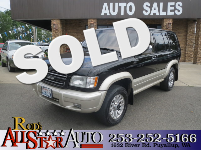 2001 Isuzu Trooper S 4WD The CARFAX Buy Back Guarantee that comes with this vehicle means that you