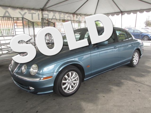 2001 Jaguar S-TYPE V8 Please call or e-mail to check availability All of our vehicles are avail