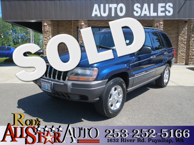 2001 Jeep Grand Cherokee Laredo The CARFAX Buy Back Guarantee that comes with this vehicle means t