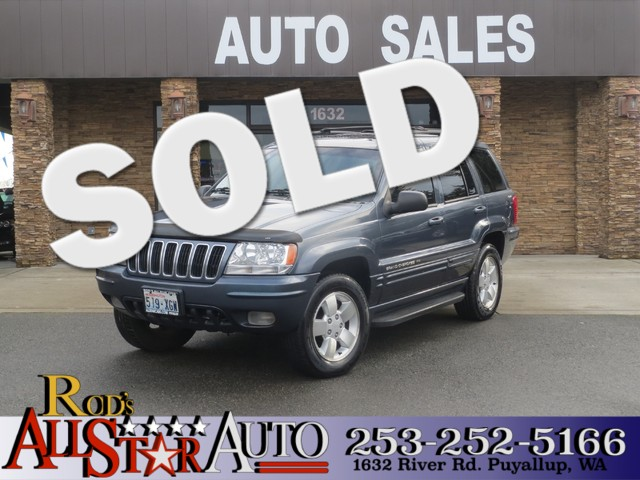 2001 Jeep Grand Cherokee Limited 4WD The CARFAX Buy Back Guarantee that comes with this vehicle me