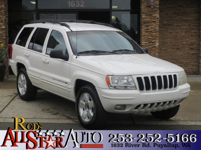 2001 Jeep Grand Cherokee Limited The CARFAX Buy Back Guarantee that comes with this vehicle means