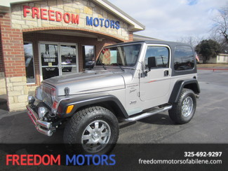 2001 Jeep Wrangler Sport 4.0L 4x4 | Abilene, Texas | Freedom Motors  in Abilene,Tx Texas