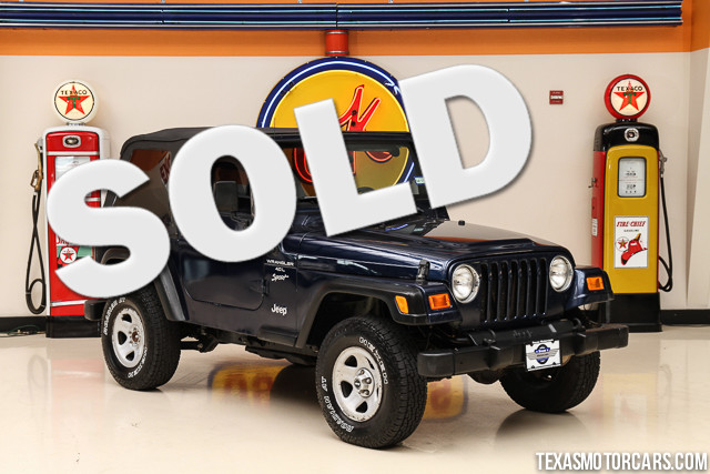 2001 Jeep Wrangler Sport This Clean Carfax 2001 Jeep Wrangler Sport is in great shape with only 16