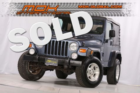 2001 Jeep Wrangler Sport - Manual - A/C in Los Angeles
