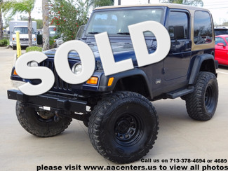 2001 Jeep Wrangler Sport in Houston TX