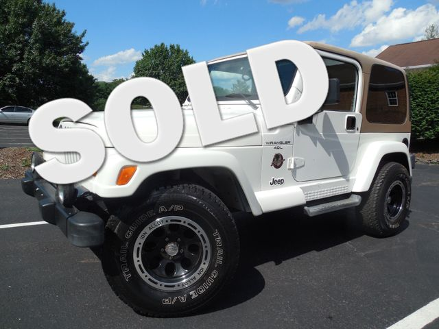 2001 Jeep Wrangler Sahara Leesburg, Virginia 0