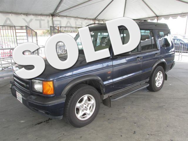 2001 Land Rover Discovery Series II SE Please call or e-mail to check availability All of our v