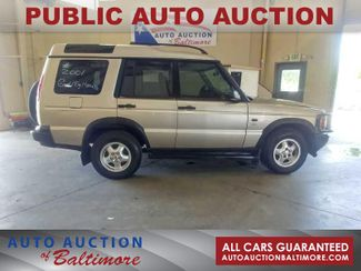 2001 Land Rover Discovery Series II SD   JOPPA, MD   Auto Auction of Baltimore  in Joppa MD
