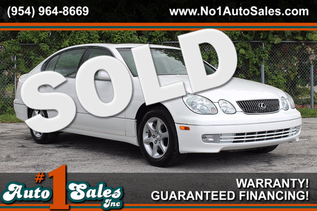 2001 Lexus GS 300  WARRANTY CARFAX CERTIFIED AUTOCHECK CERTIFIED 2 OWNERS 17 SERVICE RECORD