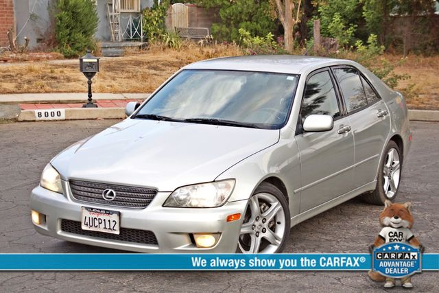 2001 Lexus IS 300 SPORT AUTOMATIC XENON ALLOY WHLS SERVICE RECORDS 1-OWNER Woodland Hills, CA 0