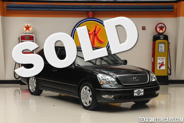 2001 Lexus LS 430 This Clean Carfax 2001 Lexus LS 430 is in outstanding condition with only 99 567