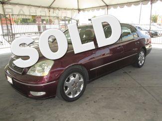 2001 Lexus LS 430 Gardena, California