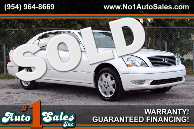2001 Lexus LS 430  WARRANTY CARFAX CERTIFIED AUTOCHECK CERTIFIED 2 OWNERS 22 SERVICE RECORD