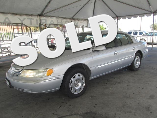 2001 Lincoln Continental Please call or e-mail to check availability All of our vehicles are av