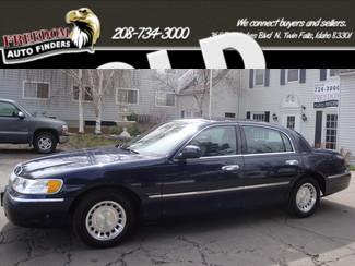 2001 Lincoln Town Car Executive in  Idaho
