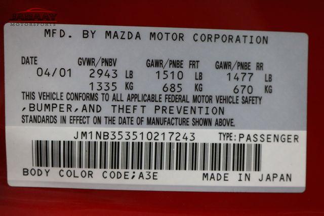 2001 Mazda MX-5 Miata Base Merrillville, Indiana 45