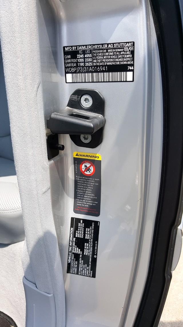 2001 Mercedes-Benz CL55 AMG Arlington, Texas 21