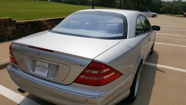 2001 Mercedes-Benz CL55 AMG Arlington, Texas 2
