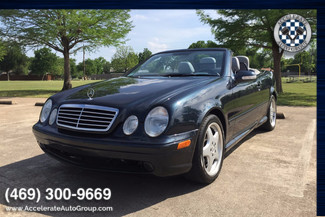 2001 Mercedes-Benz CLK430 LOW MILES! | Garland, Texas | Accelerate Auto Group in Garland