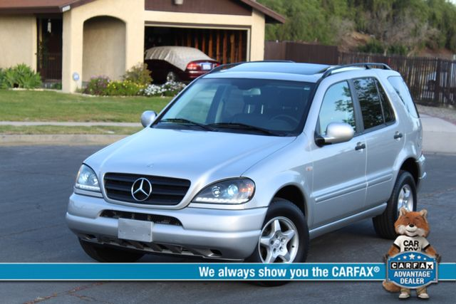 2001 Mercedes-Benz ML320 AUTOMATIC SUNROOF LEATHER XENON SERVICE RECORDS! Woodland Hills, CA 0