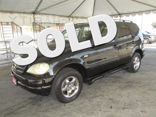 2001 Mercedes ML320 Please call or e-mail to check availability All of our vehicles are availab