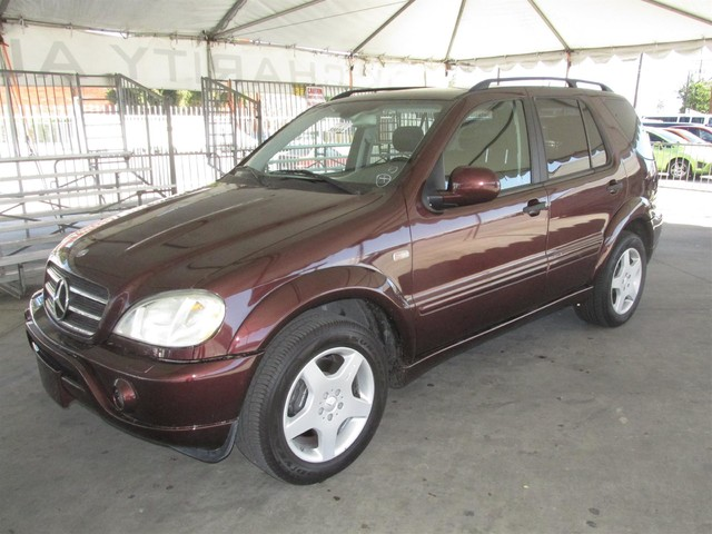 2001 Mercedes ML55 AMG Please call or e-mail to check availability All of our vehicles are avai