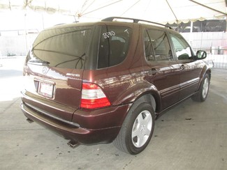 2001 Mercedes-Benz ML55 AMG Gardena, California 2