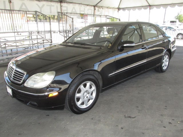 2001 Mercedes S500 Please call or e-mail to check availability All of our vehicles are availabl