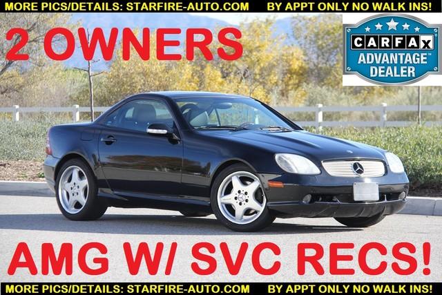 2001 Mercedes-Benz SLK320 AMG PACKAGE Santa Clarita, CA 0