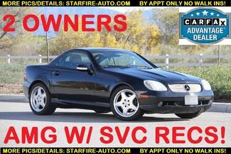 2001 Mercedes-Benz SLK320 AMG PACKAGE Santa Clarita, CA