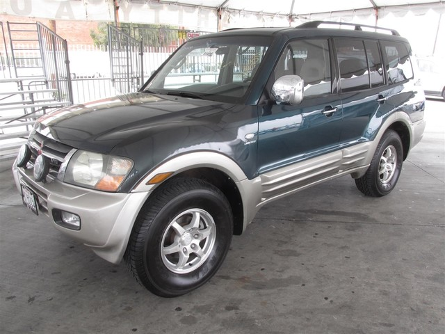 2001 Mitsubishi Montero LTD This particular Vehicles true mileage is unknown TMU This particul