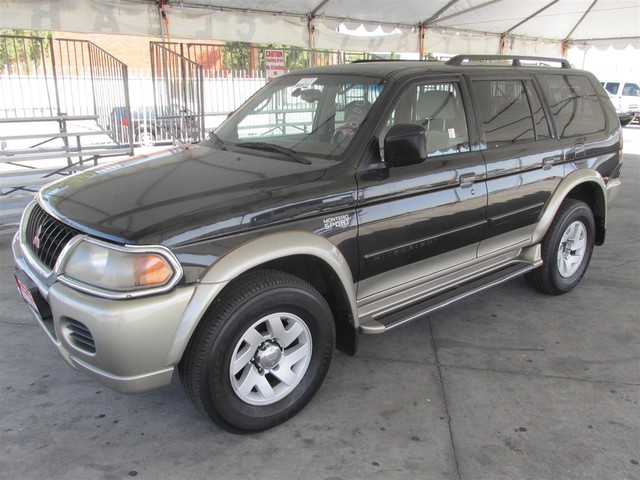 2001 Mitsubishi Montero Sport XLS Please call or e-mail to check availability All of our vehicl