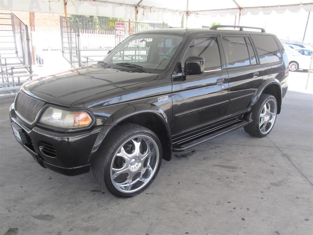 2001 Mitsubishi Montero Sport LS This particular Vehicles true mileage is unknown TMU Please c