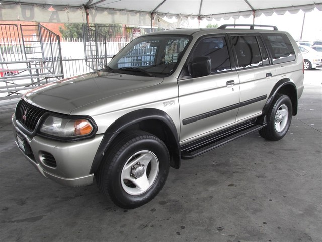 2001 Mitsubishi Montero Sport LS Please call or e-mail to check availability All of our vehicle