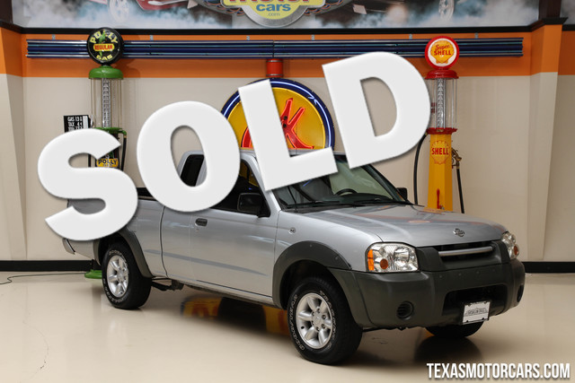2001 Nissan Frontier XE Financing is available with rates as low as 29 wac