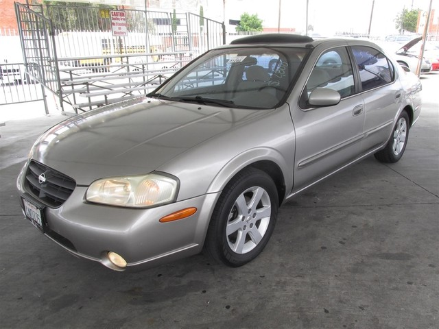 2001 Nissan Maxima SE Please call or e-mail to check availability All of our vehicles are avail