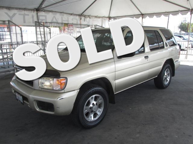 2001 Nissan Pathfinder XE Please call or e-mail to check availability All of our vehicles are a