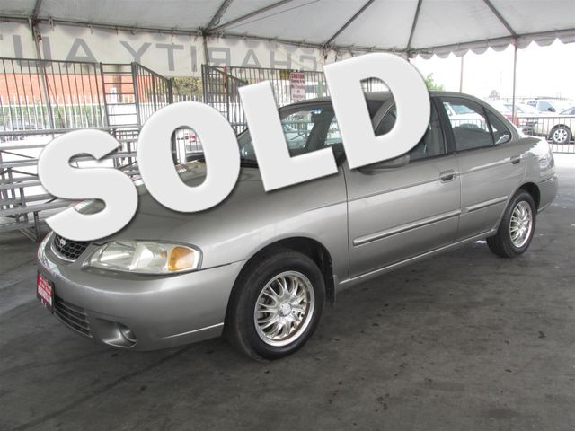 2001 Nissan Sentra GXE Please call or e-mail to check availability All of our vehicles are avai