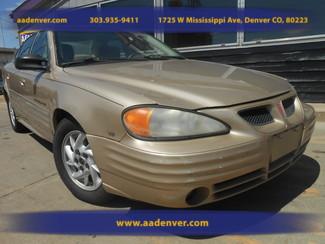 2001 Pontiac Grand Am SE1 | Denver, CO | A&A Automotive of Denver in Denver, Littleton, Englewood, Aurora, Lakewood, Morrison, Brighton, Fort Lupton, Longmont, Montbello, Commerece City CO
