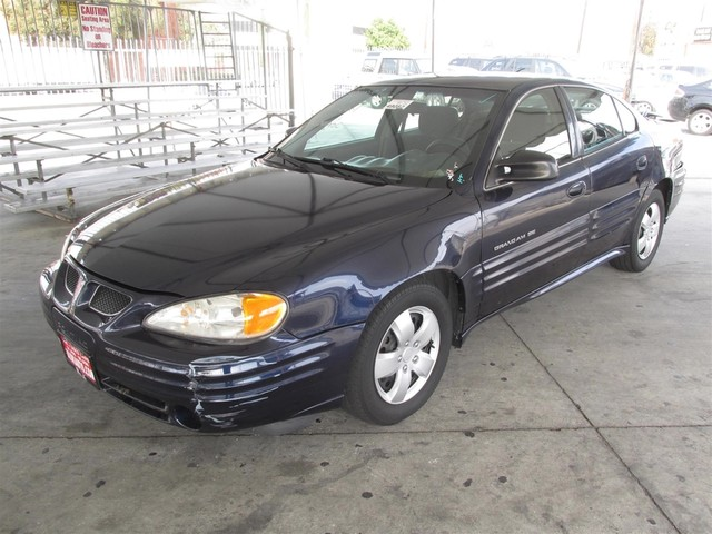 2001 Pontiac Grand Am SE Please call or e-mail to check availability All of our vehicles are av