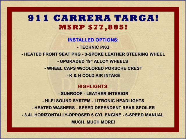 2001 Porsche 911 Carrera Targa AWD Mooresville , NC 1