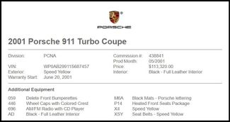 2001 Porsche 911 in Carrollton TX